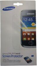 2x Samsung Galaxy mini 2 Screen Protector Displayschutzfolie Schutz Folie NEU