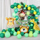 Jungle Thème Ballon Anniversaire Arc Décoration DIY Kit - Divers Âges Disponible