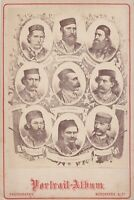 Very rare photo 19th century Heroes of the uprising in Bosnia and Herzegovina