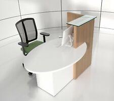 Ovo 61 Reception Desk Right Handed Counter
