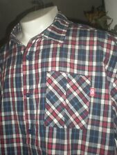 NWT ECKO UNLTD MULTI-COLOR S/S FULL BUTTONED DRESS SHIRT SZ:4XB 4XL 4X