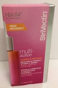 Strivectin Multi Action Super C Retinol Brighten & Correct Vitamin C Serum 30ml.