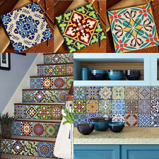 Wall Tile Stickers Stairs Decals Floor Decorative Fireproof Kitchen Wallpaper