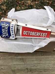 "Samuel Sam Adams Seasonal Tap Handle Octoberfest NEW Style  8.5"" Short New & F/S"