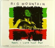 Maxi CD - Big Mountain - Baby, I Love Your Way - A4227