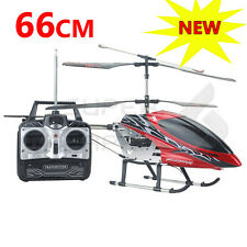 RC Helicopter 3.5CH GYRO Remote Control 66cm Huge Large Coaxial helicopter