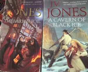 The Barbed Coil & A Cavern of Black Ice by J. V Jones