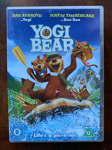 Yogi Bear DVD 2010 Live Action + Animated Feature Film Movie