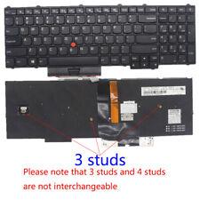 For Lenovo IBM Thinkpad P50 P51 P50S P70 P70S Backlit keyboard 3 Studs