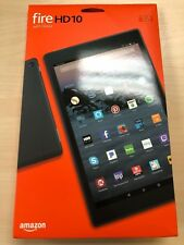 "NEW Amazon Fire HD 10 Tablet 10.1"" Display 32GB (7th Gen) 2017 - BLACK"