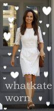 Damen WHISTLES Kleid Dress LISA weiß white bestickt embroidered S ASO Celebrity