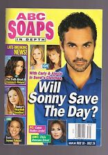 ABC SOAPS IN DEPTH GENERAL HOSPITAL GH WILL SONNY SAVE THE DAY JULY 2001