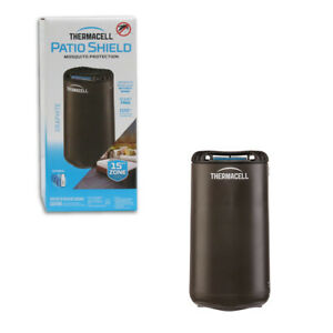 Thermacell Patio Shield Refillable Mosquito Repellent No Spray 15x15 Zone