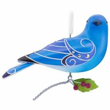 Hallmark 2017 Mountain Bluebird Beauty of Birds Series Ornament