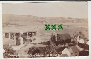 BOWEN PHOTO ? POSTCARD ; VIEW FROM THE PARADE, HAVERFORDWEST