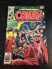 """Conan The Barbarian#73 Awesome Condition 6.0(1977)Buscema Art""""Well Of Skelos"""""""