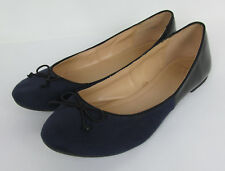 NYCO New York and Company Ballet flats Black & Blue Womens Size 8