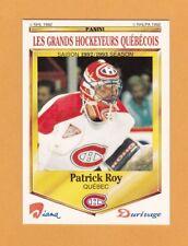 1992-93 NHL Diana Durivage Panini # 50 Patrick Roy -- NrMt