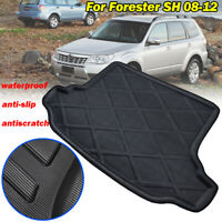 Boot Caogr Liner Tray Rear Trunk Floor Mat Carpet For Subaru Forester SH 08-12