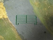 1/64 Custom Scratch-Cast Corral Panel - Qty 1 Green - These attach together