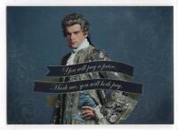 Outlander Season 2 Quote RAINBOW FOIL VARIANT Insert Card Q6 / COMTE ST. GERMAIN