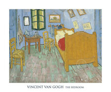 MODERN ART PRINT - The Bedroom, 1889 by Vincent van Gogh Poster 20x24