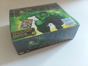 2003 Upper Deck Incredible Hulk Movie Trading Cards 24 Pack Box Autos Available