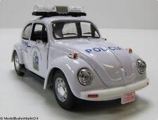 VW Beetle Police sait escarabajo BOURRICOTS 1979 Voiture Miniature Scale 1:43