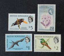 Ckstamps: Gb Stamps Collection British Honduras Scott#155 176 177 178 Mint Nh Og