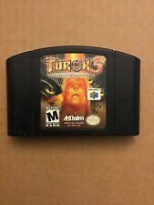 Turok 3: Shadow of Oblivion (Nintendo 64, 2000) Cart Only Read Description