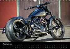 Kalender 2018 DIN A3 Best of Custom- and Showbikes Kalender Querformat Harley-..