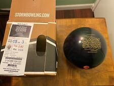 Storm Dark Code(Used)15lbs/Pin:3-3.5/Top Weight:2.82oz