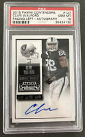 2015 Panini Contenders Clive Walford #127 Autographed Auto Rookie RC PSA 10 Rare