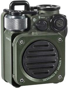 Muzen Wild Mini Rugged Outdoor Speaker, Bluetooth Portable Speaker with Louder V