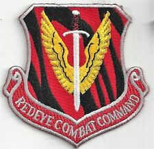 USAF 120th FIGHTER SQ  PATCH -   'REDEYE COMBAT COMMAND'          NEW RED COLOR