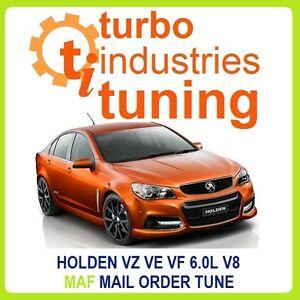 COMMODORE VZ VE VF 6.0L V8 MAF TUNE GEN IV 350KW L76 L98 L77  MAIL ORDER