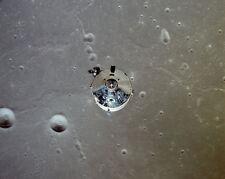 Apollo 11 Kommando Modul und Mond Vom Orbit 8x10 Silber Halogen Fotodruck