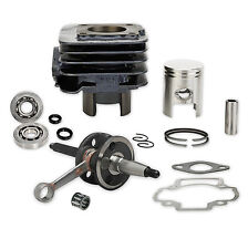 Revisión De Motor Kit Cigüeñal CILINDRO Cojinete PARA PIAGGIO 50ccm AC 2-takt