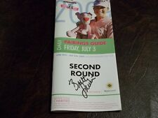 BRITTANY LINCICOME SIGNED 2009 JAMIE FARR PAIRING GUIDE