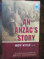 AN ANZAC'S STORY ROY KYLE 24TH BATTALION AIF GALLIPOLI FRANCE WW1 Diary