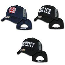 Rapid Fire Department Police Security Air Mesh Baseball Caps Hats Cap Hat