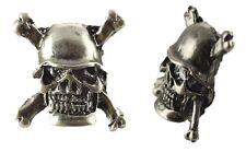 Loose Studs Skull Helmet Bag 10 Skull Stud Bts2 Silver Antique