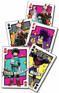 My Hero Academia  Hero Costum Spielkarten Pokerkarten  offiziel lizenziert Manga