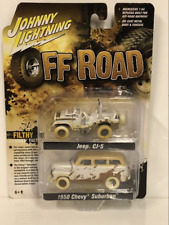 RARE Off Road Jeep CJ-5 and 1950 Chevy Surburban Twin Pack JLPK006