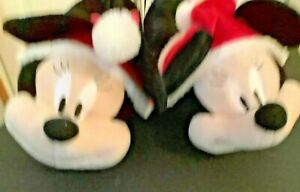 BNWT  Disney Mickey Mouse Fun Christmas Slippers Size 7/8, 40/41 by Primark