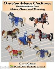 Model Horse Arabian Costumes Pattern Book