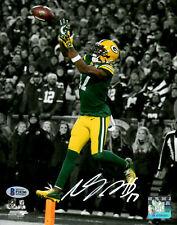 Packers Receiver DAVANTE ADAMS Signed 8x10 Photo #1 AUTO ~ 2014 Draft Pick