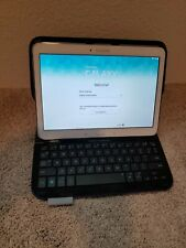 Samsung Galaxy Tab 4 Tablet SM-T530NU 16GB, 10.1in - White, Keyboard Case Bundle