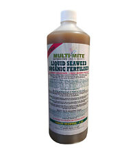 More details for multi mite 1 ltr organic liquid seaweed concentrate all plant feed fertiliser