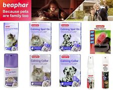Beaphar Calming Treats Home Spray Collar Spot On Clicker Trainer For Cats Dogs